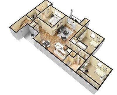 apartment-e-3d-furnished